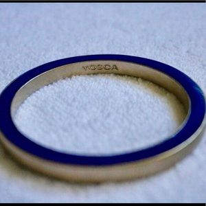 Coach royal blue and gold bangle, brand new